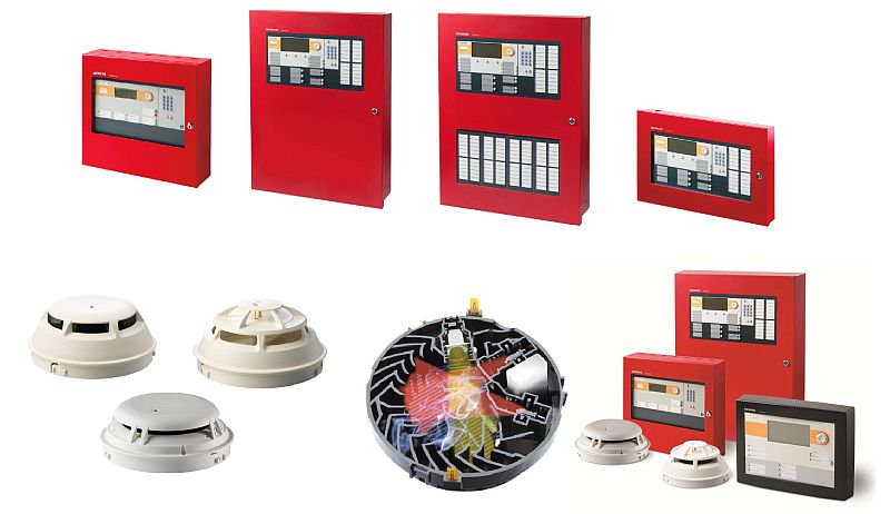 Siemens Fire Detector Products